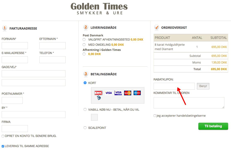 Golden Times Rabatkode