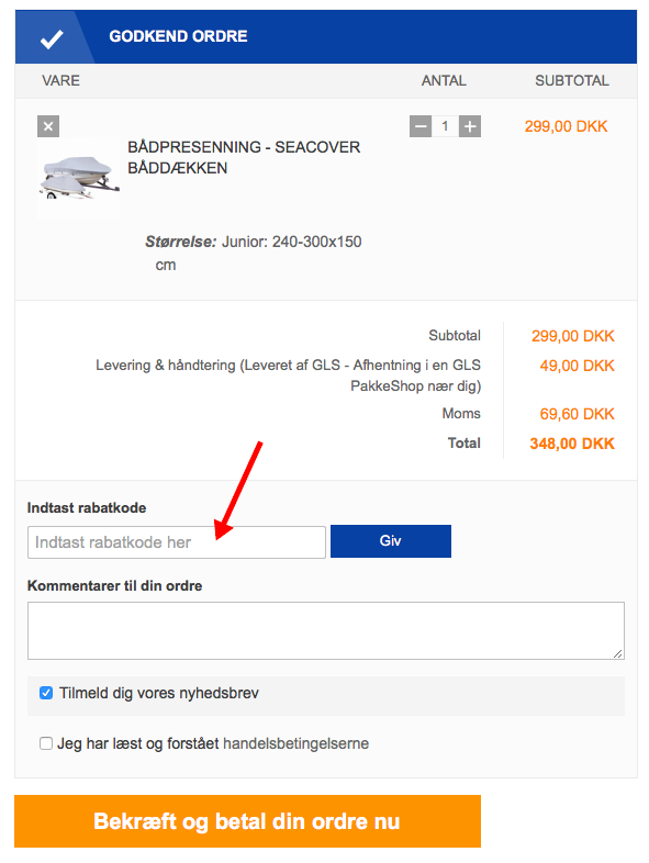 Marineudstyr.dk Rabatkode