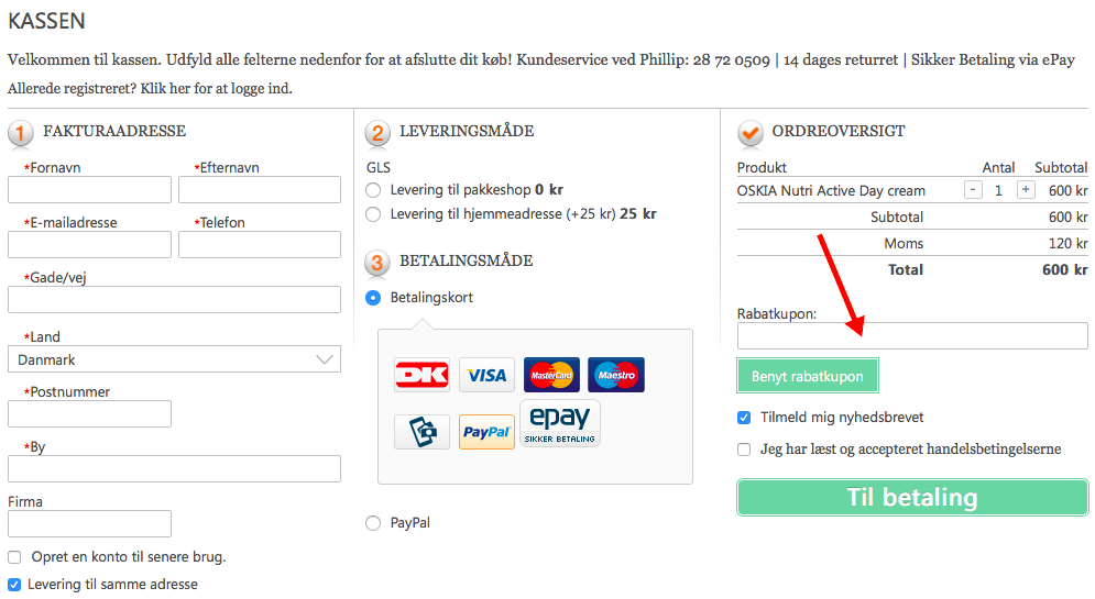 Spashop.dk Rabatkode