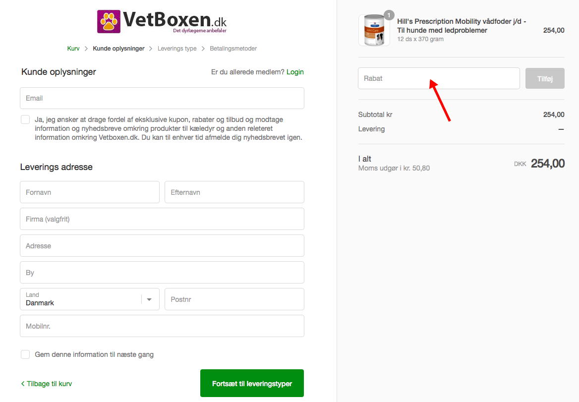 VetBoxen Rabatkode