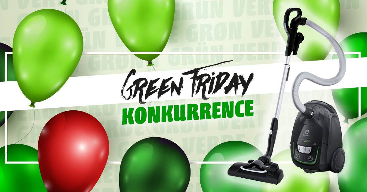 Green Friday konkurrence hos Skousen